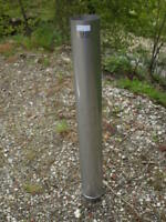 7 X 48'' Long Stainless Steel Stove Pipe (Liner)