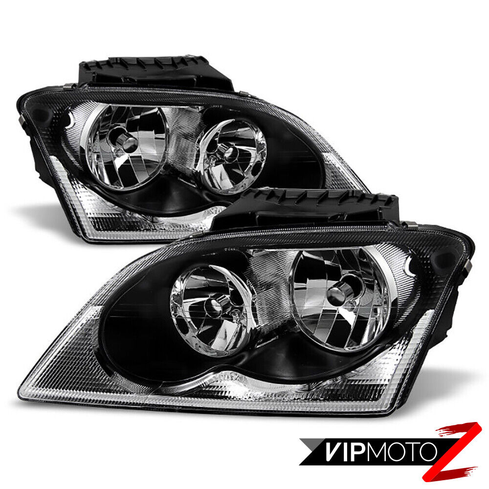 2004 2005 2006 chrysler pacifica factory style headlights. Black Bedroom Furniture Sets. Home Design Ideas