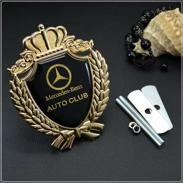 Luxury Car Logos: New Metal Luxury Auto Car Grille Badge Emblem Logo Fit For