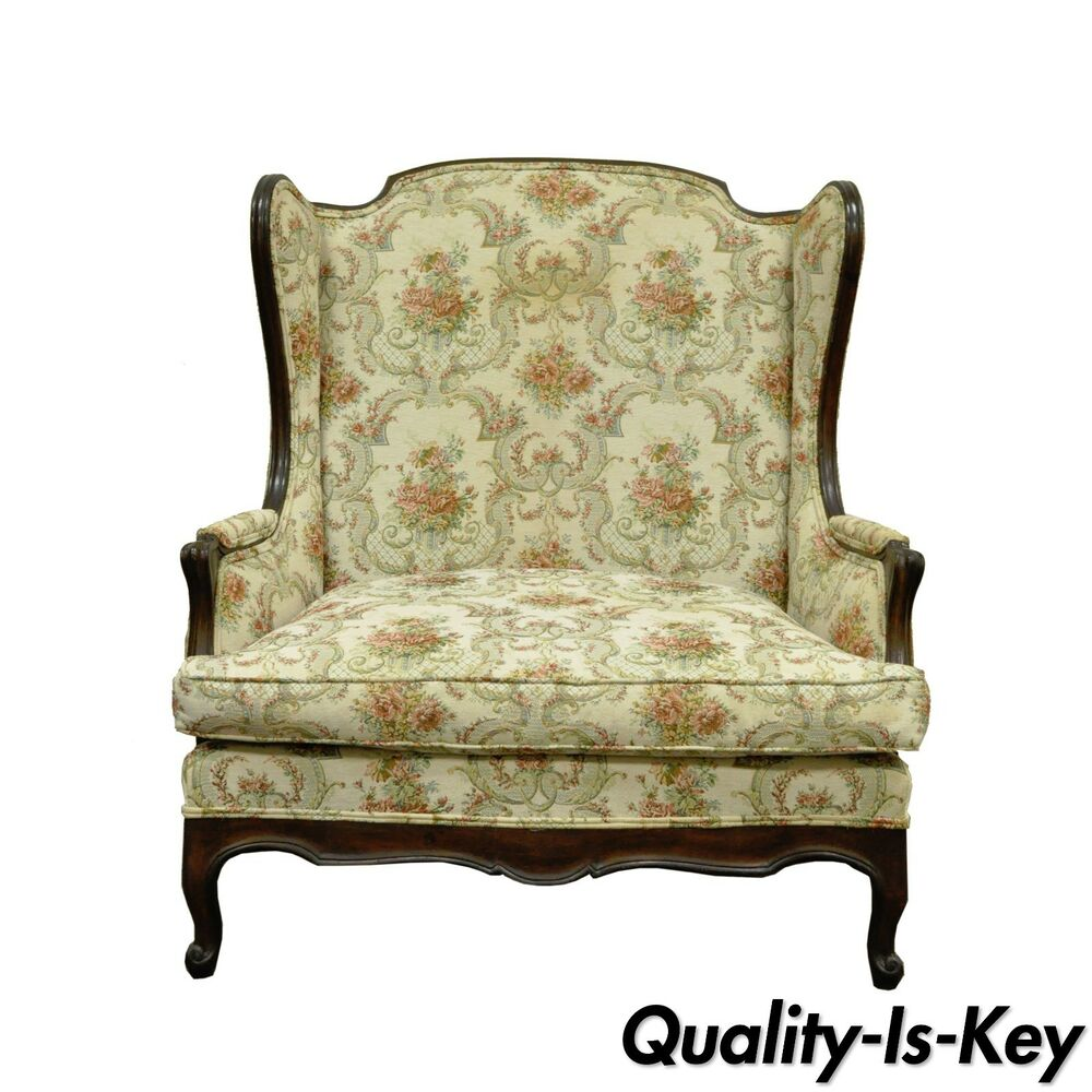 Love Sofas Ebay Shop: Vtg French Country Louis XV Style Wing Back Settee Love