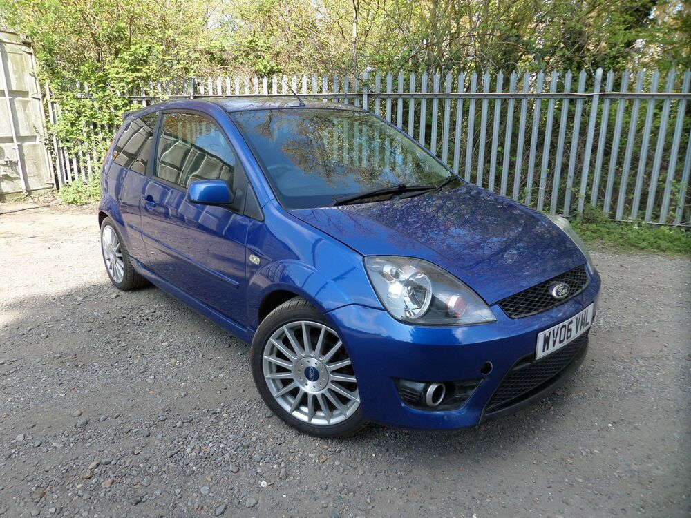 ford fiesta st 150 mk6 blue breaking spares 2002 2008 side. Black Bedroom Furniture Sets. Home Design Ideas