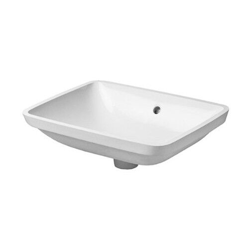 duravit d0305490000 starck 3 undermount bathroom sink white ebay. Black Bedroom Furniture Sets. Home Design Ideas