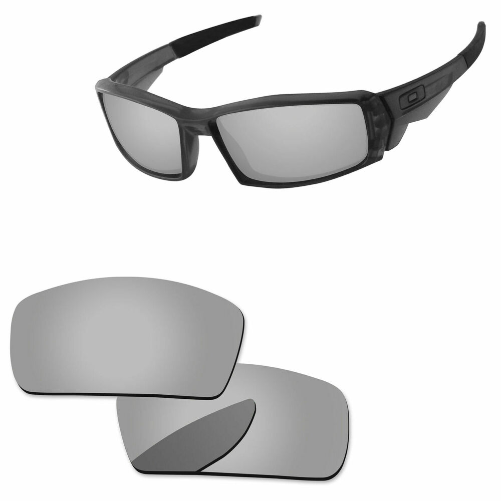 12653f83c0 Details about Silver Mirror Polycarbonate Replacement Lenses For-Oakley  Canteen 2006