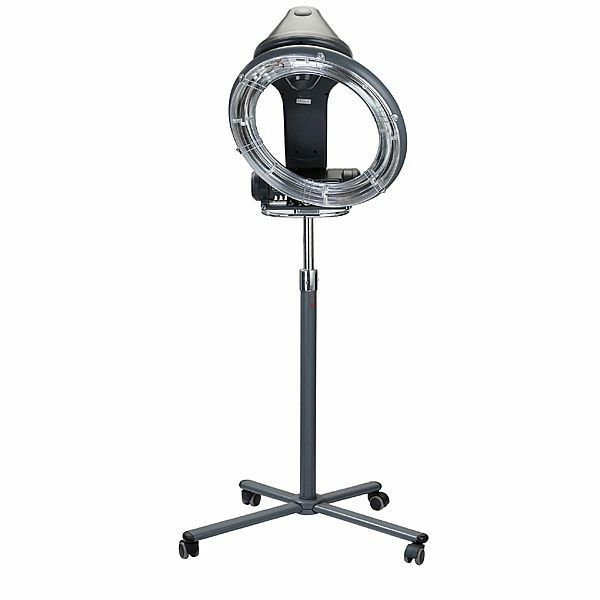 Professional Hair Steamer Rolling Stand Beauty Salon Color: OMWAH Professional Orbiting Rollerball Infrared Hair Dryer