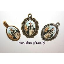 St. Hyacinth Rosary Mini-Medal/Choice of Silver/Bronze/Antique Gold