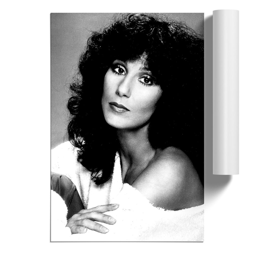 Details about poster print wall art cher vertical portrait modern famous icon home décor