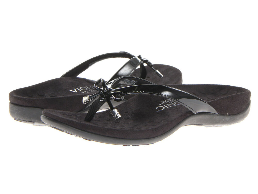 Women Vionic Orthaheel Bella Ii Flip Flop 44bellaii Black