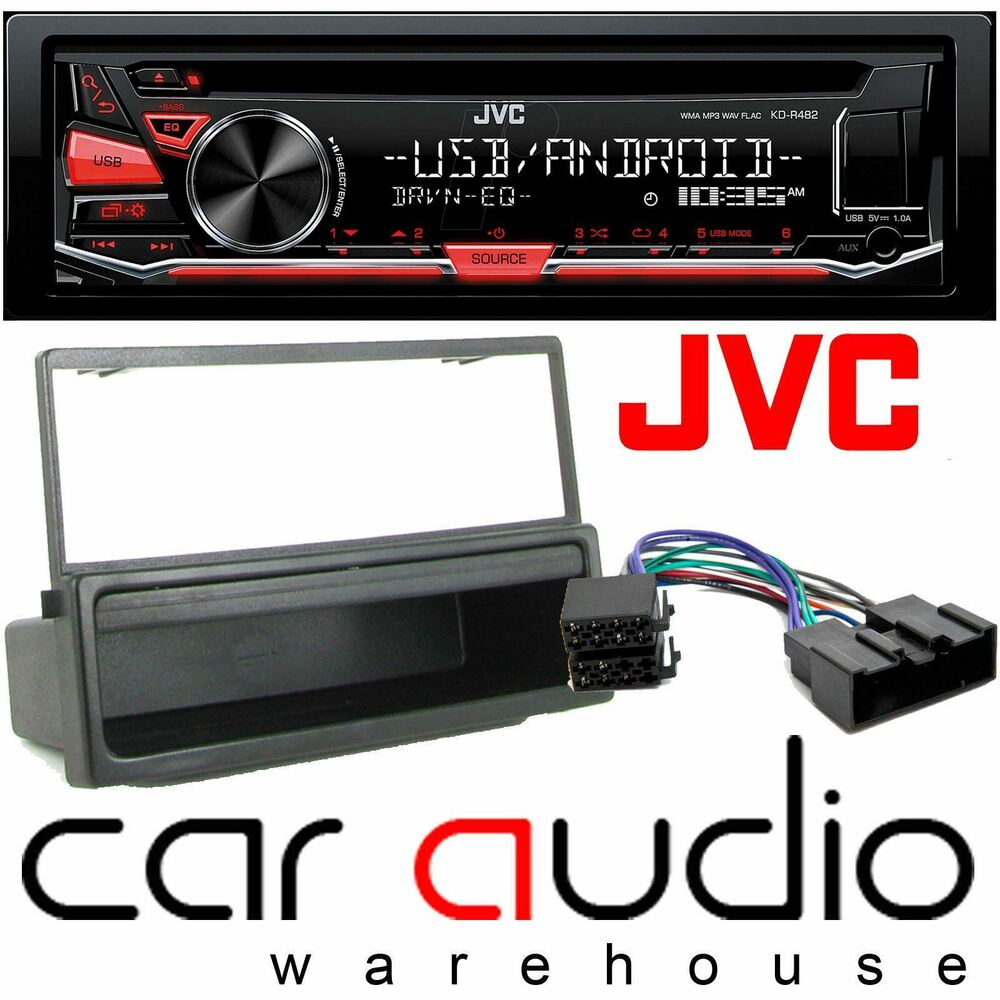 Mazda Mx5 Mk25 2001 2005 Jvc Kd R571 Cd Mp3 Car Stereo Single Din 3 Fitting Kit Fascia Wiring Loom Ebay