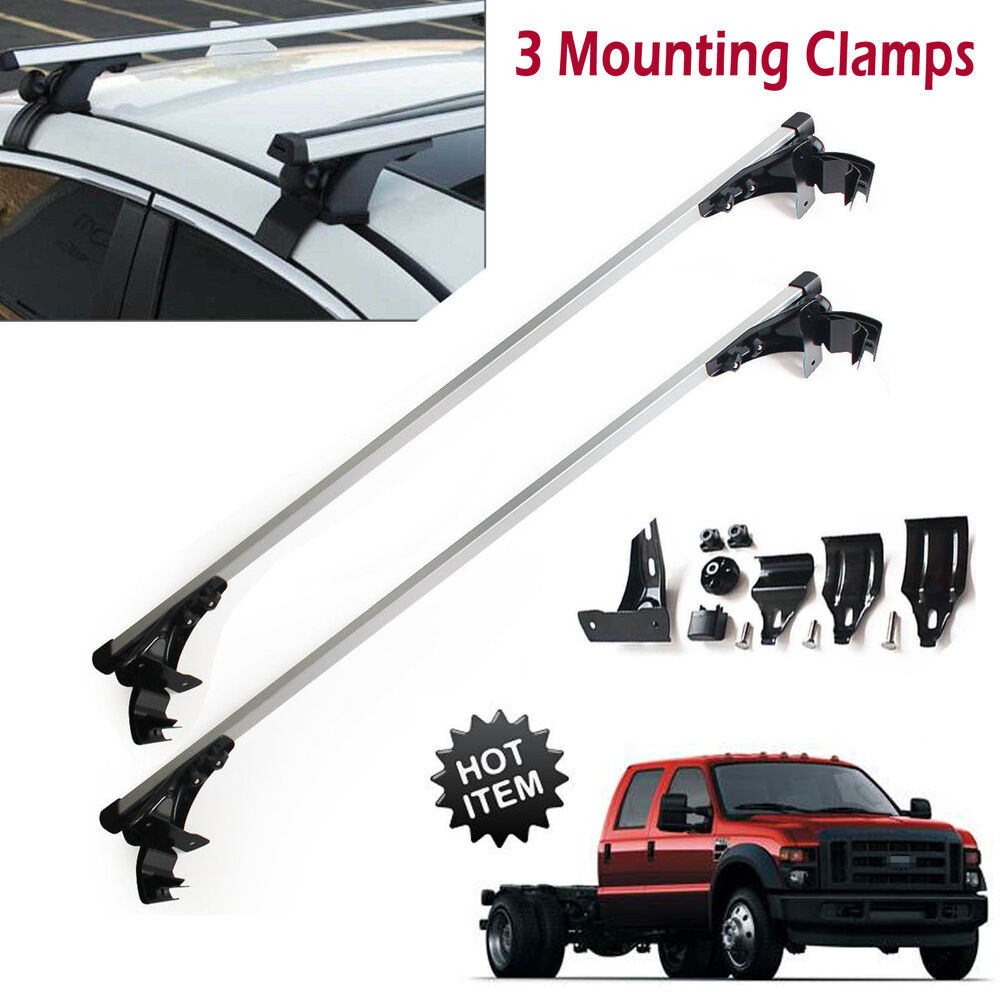 for ford f 150 f 350 f 450 car top luggage cross bar roof. Black Bedroom Furniture Sets. Home Design Ideas