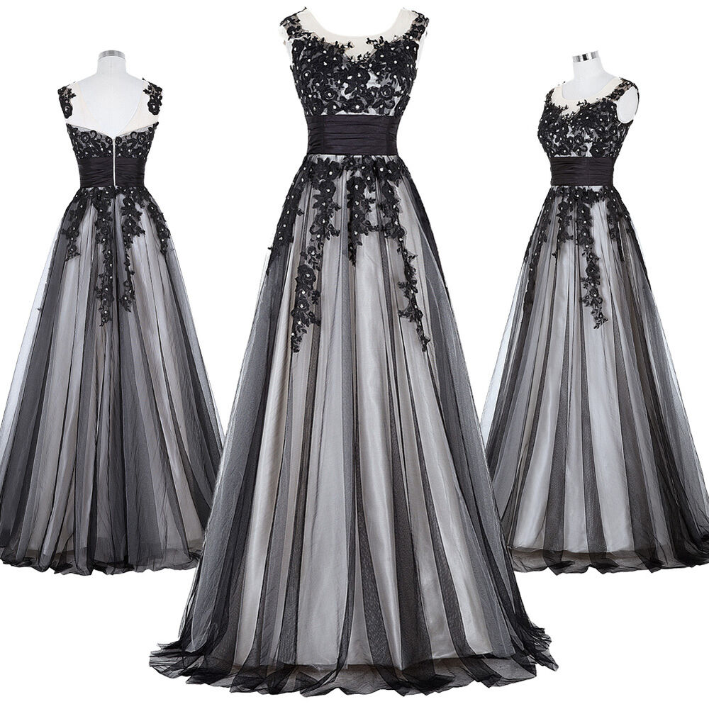 Vintage Retro Style Evening Gown Formal Pageant Party Long