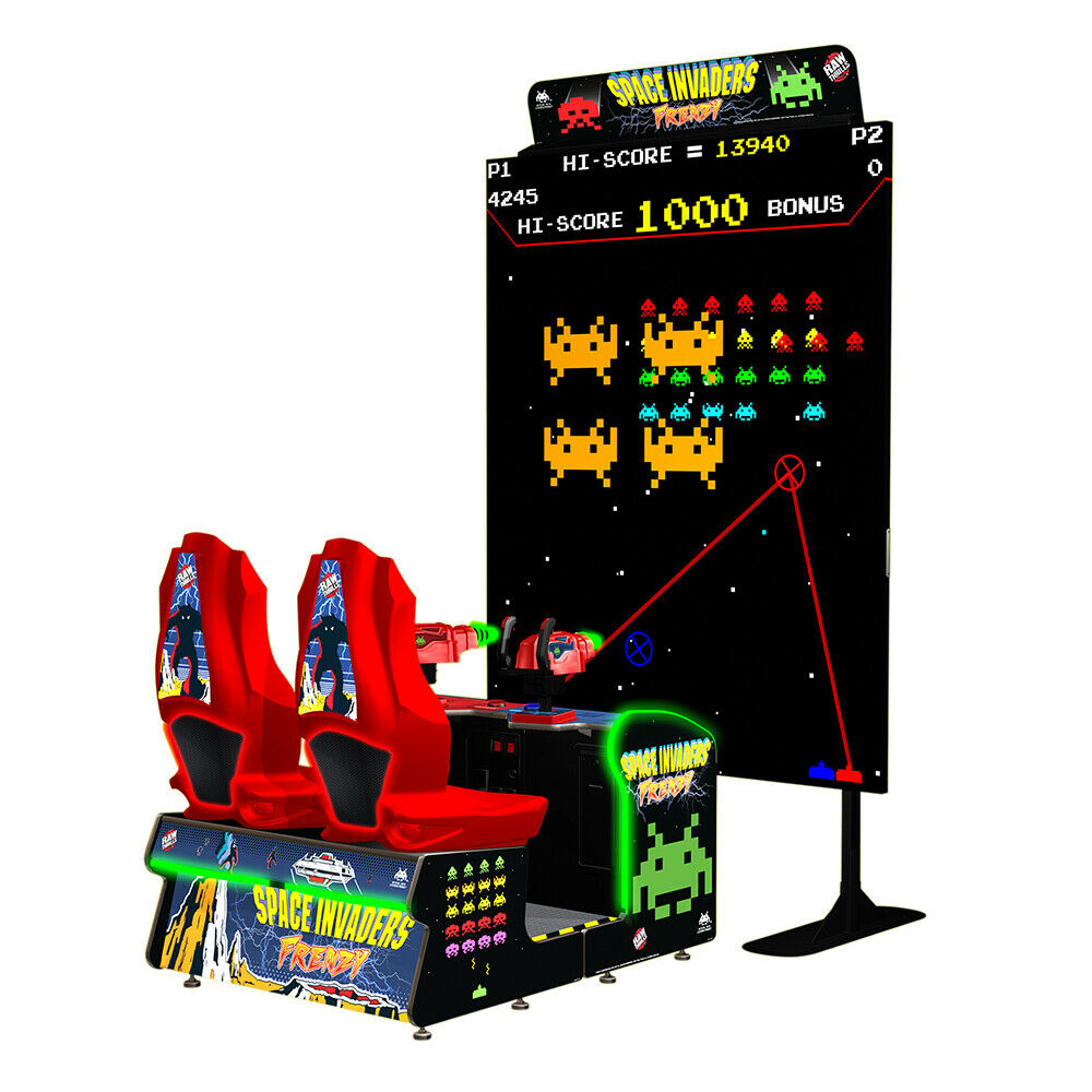 Space Invaders Frenzy Video Arcade Game | eBay