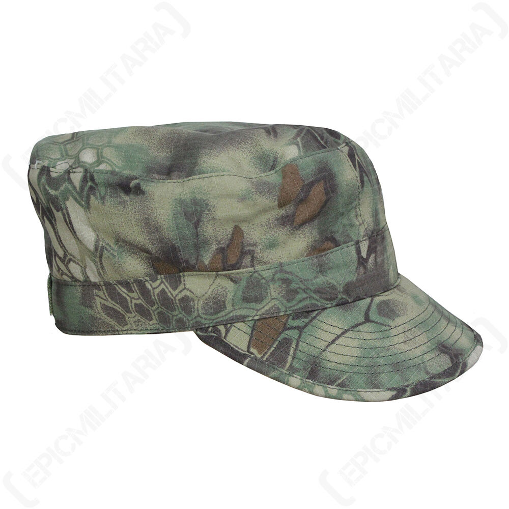 Details about Mandra Woodland Camo US ACU Field Cap - Army Style Ripstop Hat  Soldier All Sizes 0f20afa32987