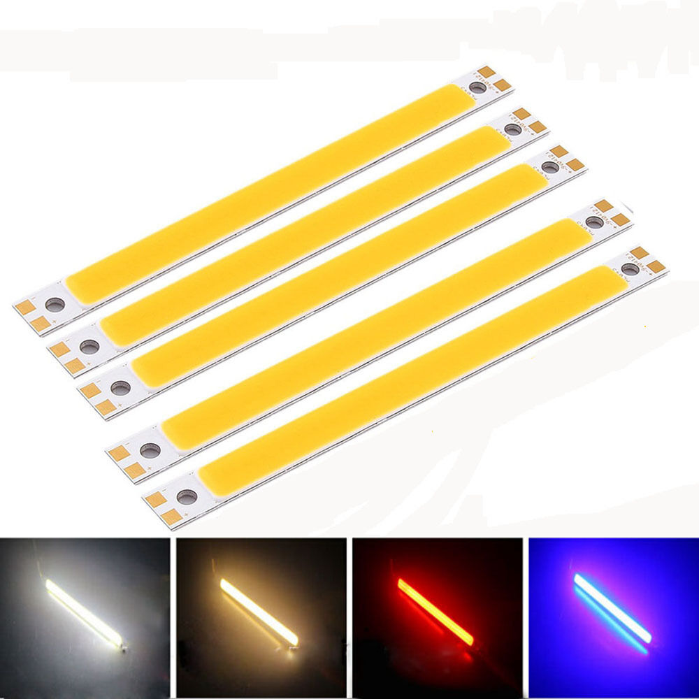 warm cool white 10w strip lamp dc 12v led panel light cob. Black Bedroom Furniture Sets. Home Design Ideas