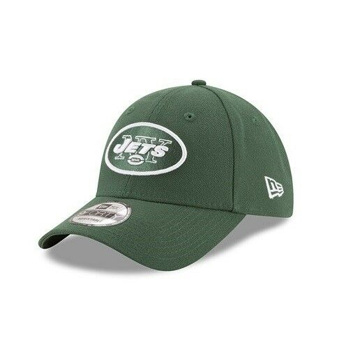 43b96afb746afd Details about New Era 9FORTY NFL new York Jets The League Green Curved Peak  Hat Baseball Cap