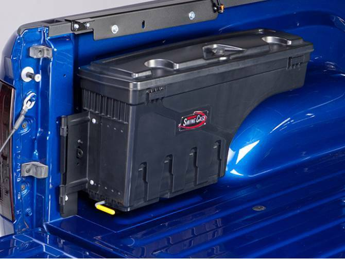 Undercover Swing Case Toolbox Driver Side 2015 2018 Ford