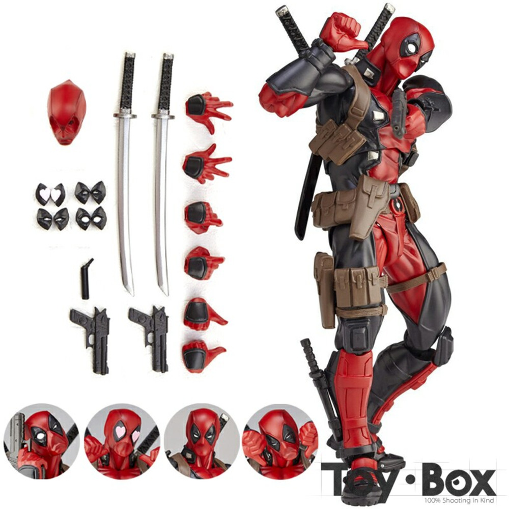 Deadpool Action Figure Models Toys Kids Gift Movie Marvel