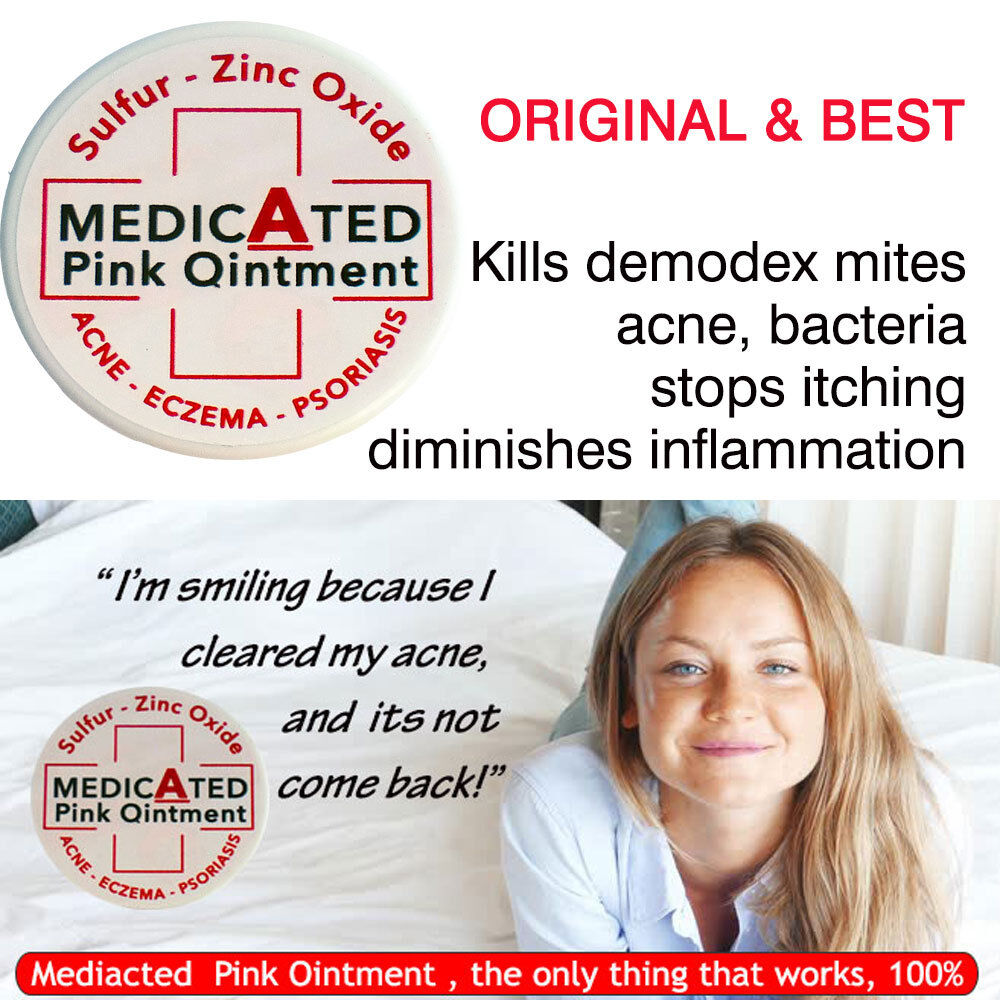 Zinc ointment for acne
