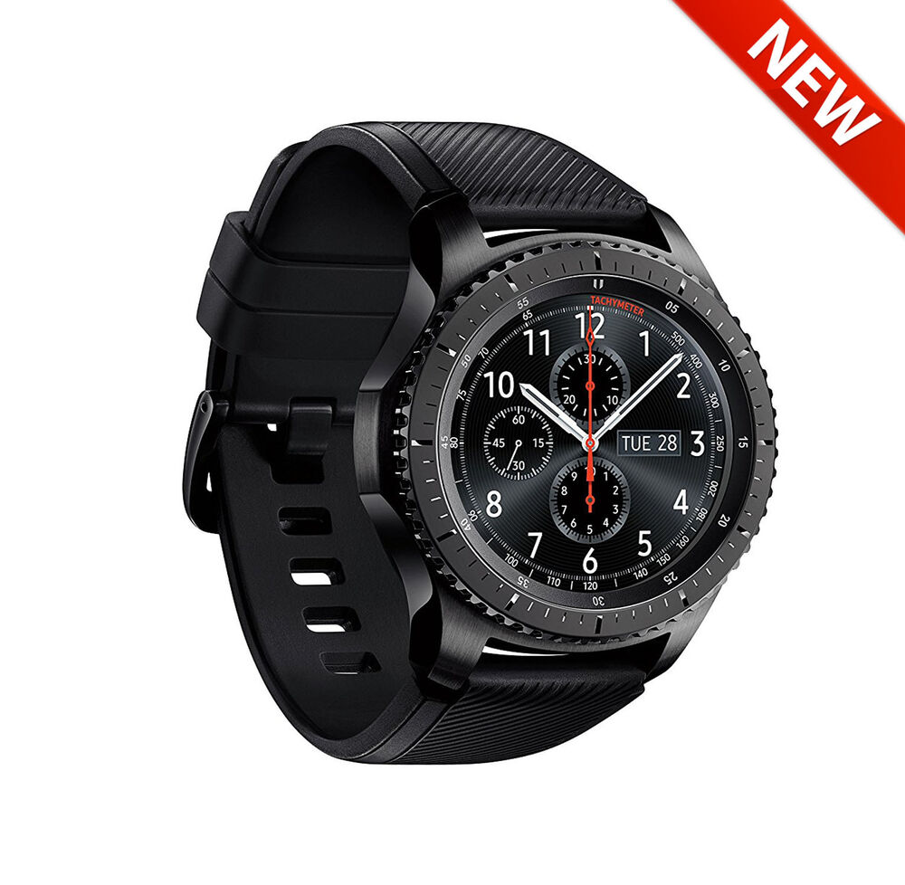 samsung sm r765 gear s3 sm r765a frontier smartwatch lte smart watch ebay. Black Bedroom Furniture Sets. Home Design Ideas