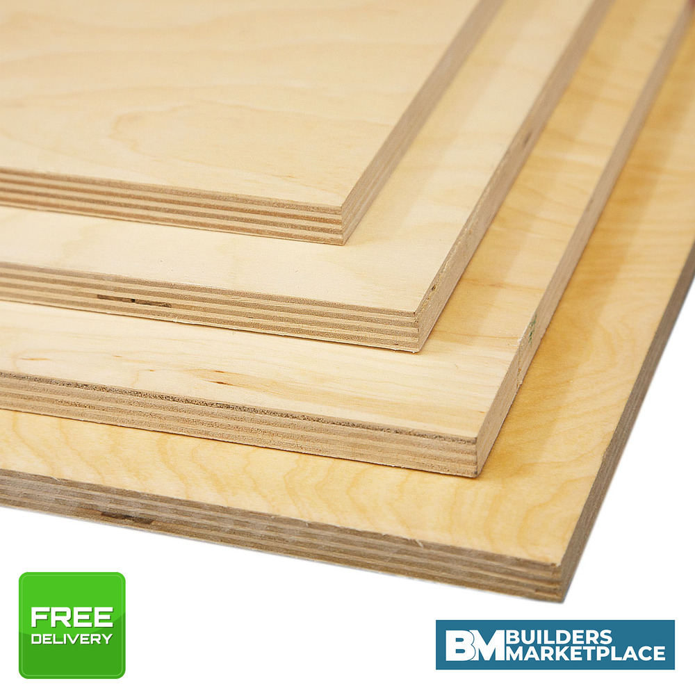 WBP Birch Plywood Sheets Baltic Birch Ply