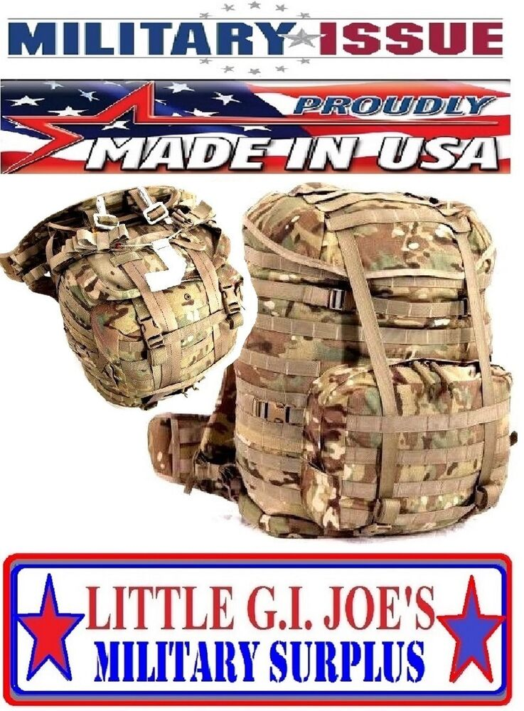 d2ba57aa01c1 NEW US Military Issue Multicam  OCP Molle 4000 System Backpack Complete W  Frame