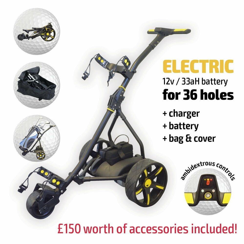 Electric Motorised Golf Trolley From Rider