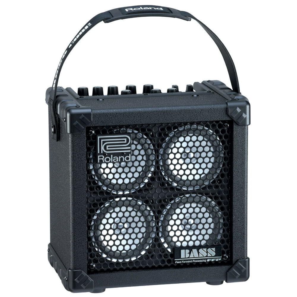 roland micro cube bass rx battery powered bass combo amp 761294406342 ebay. Black Bedroom Furniture Sets. Home Design Ideas