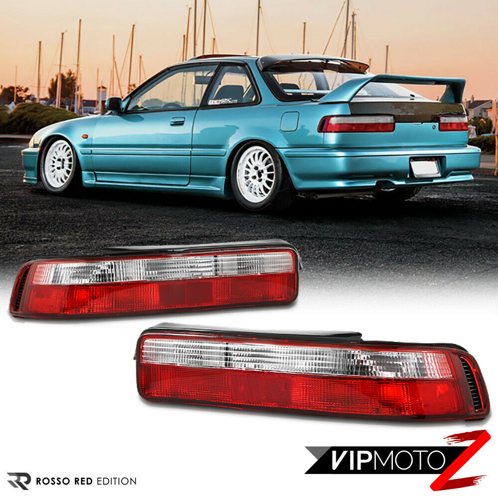 1990-1993 Acura Integra DA B18 GSR VTEC JDM Red Clear Rear