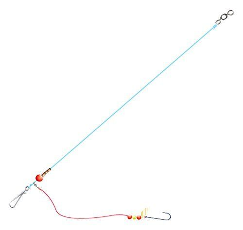Sea fishing flattie rigs size 2 x3 rigs hand crafted for Cod fishing rigs
