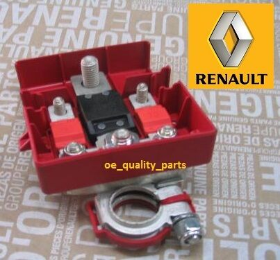 oe genuine renault battery terminal cable clamp megane scenic ii 2 clio iii 3 ebay. Black Bedroom Furniture Sets. Home Design Ideas
