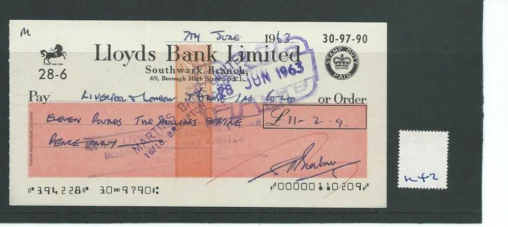 how to write a cheque lloyds tsb