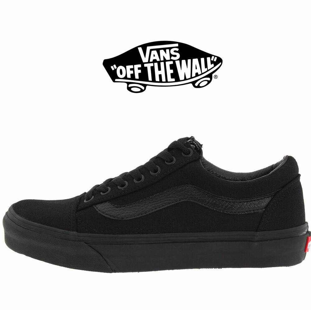 mens vans old skool fashion sneaker core classic black. Black Bedroom Furniture Sets. Home Design Ideas