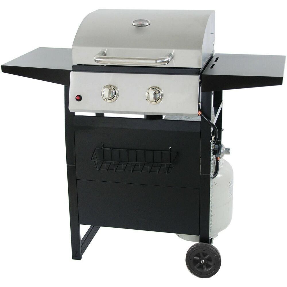 Revoace burner lp gas grill with stainless steel new