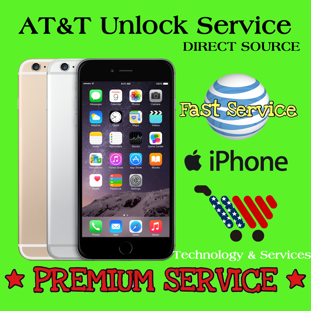 unlock iphone att factory unlock premium service code att at amp t iphone 4 4s 5 3263