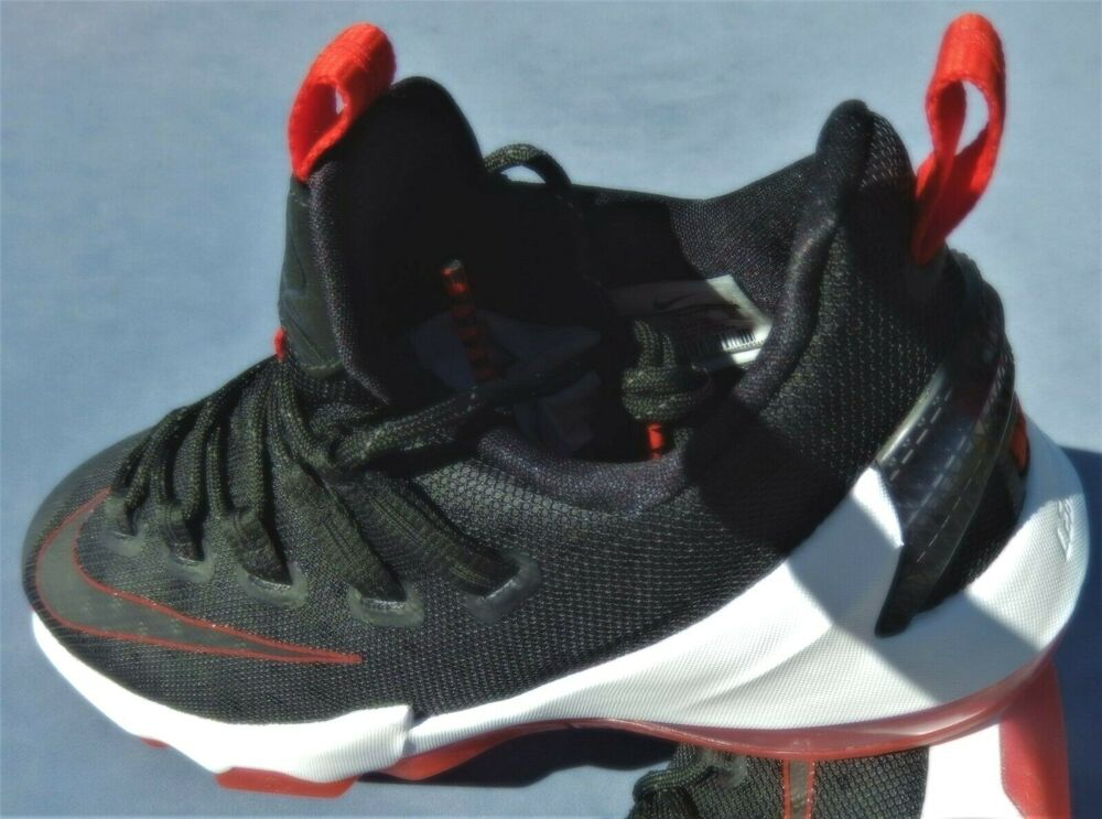 01c8dab85eb7 Details about NEW NIKE KIDS LEBRON XIII LOW (GS) 13 multiple SIZES BLACK RED  WHITE 834347-061