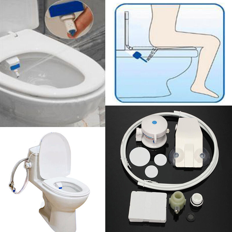 smart hygiene easy toilet bidet seat sprayer water wash unisex shattaf set ebay. Black Bedroom Furniture Sets. Home Design Ideas