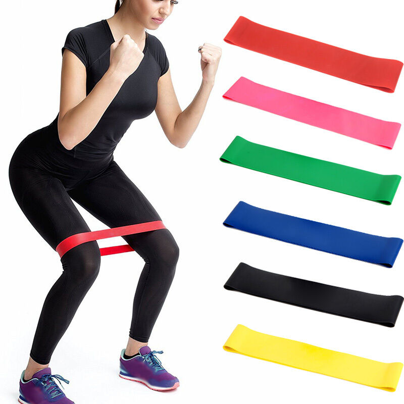 New Elastic Resistance Band Exercise Loop Home Gym Yoga