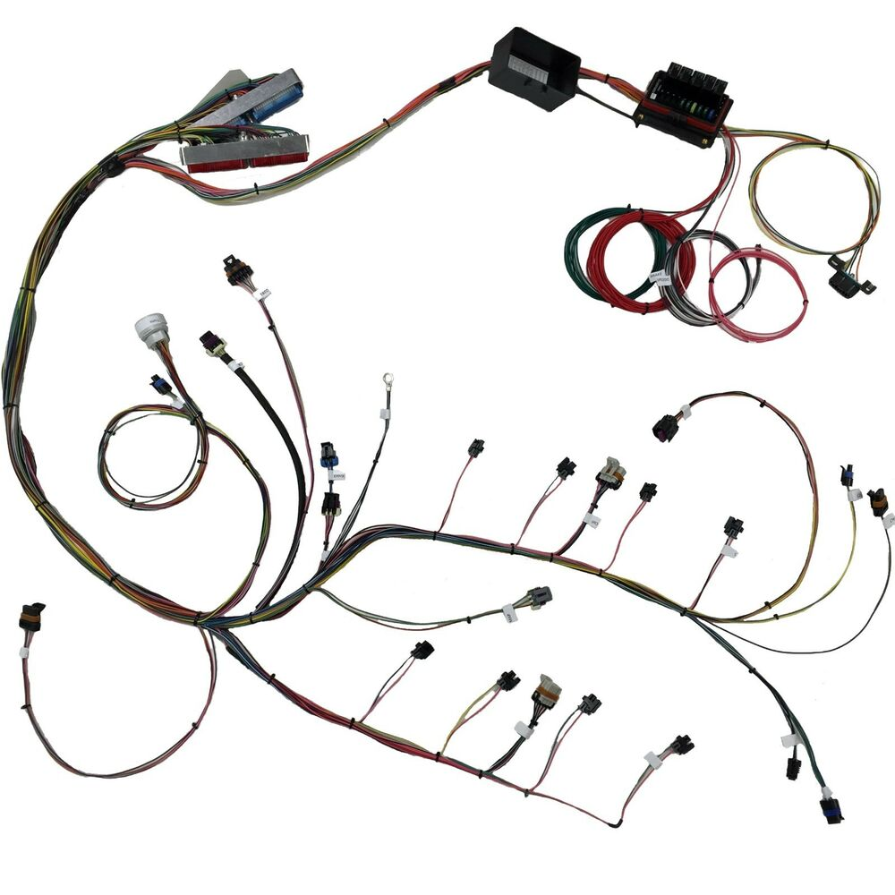 4 8    5 3    6 0 vortec ls standalone wiring harness  dyno