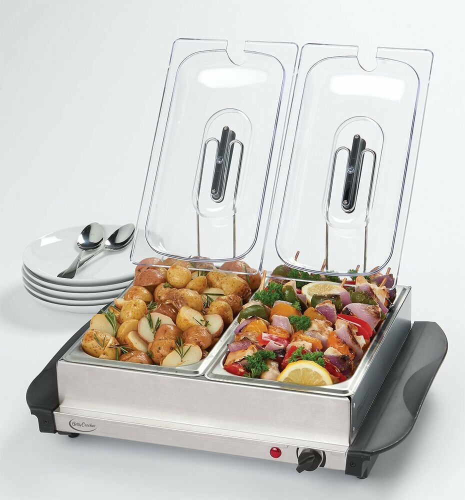 Food Warmers For Catering ~ Electric dish tray buffet server food warmer catering