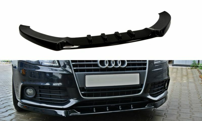 audi a4 8k b8 front bumper lower lip spoiler cup chin. Black Bedroom Furniture Sets. Home Design Ideas