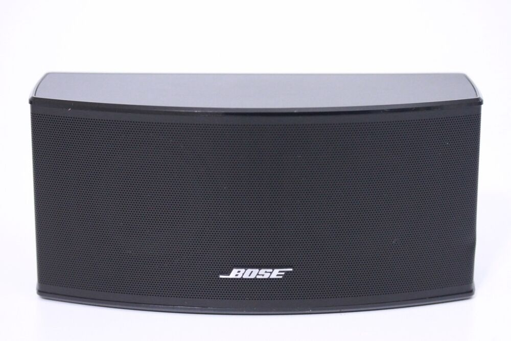 bose acoustimass lifestyle center double cube speaker series ii black ebay. Black Bedroom Furniture Sets. Home Design Ideas