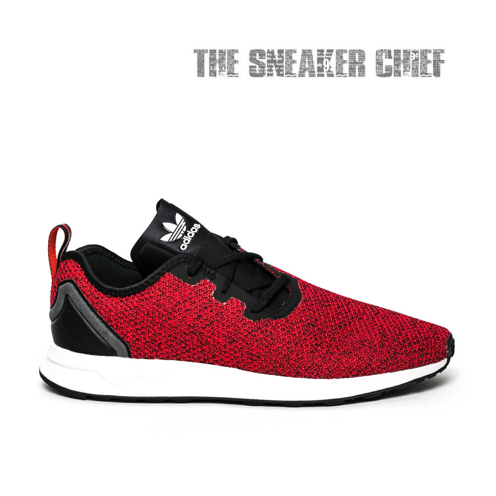 adidas zx flux adv asym men s casual shoes red white black s80544 ebay rh ebay com