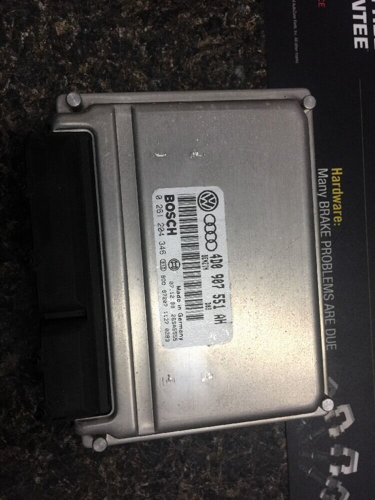 Details about 98-02 AUDI A4 A6 Passat ENGINE CONTROL UNIT ECU ECM PCM 2 8L  4D0907551AH