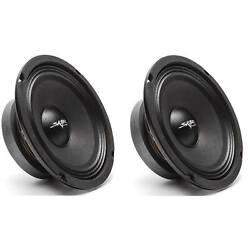 Kyпить (2) NEW SKAR AUDIO FSX65-4 6.5-INCH 4 OHM 300W MAX CAR PRO AUDIO SPEAKERS - PAIR на еВаy.соm