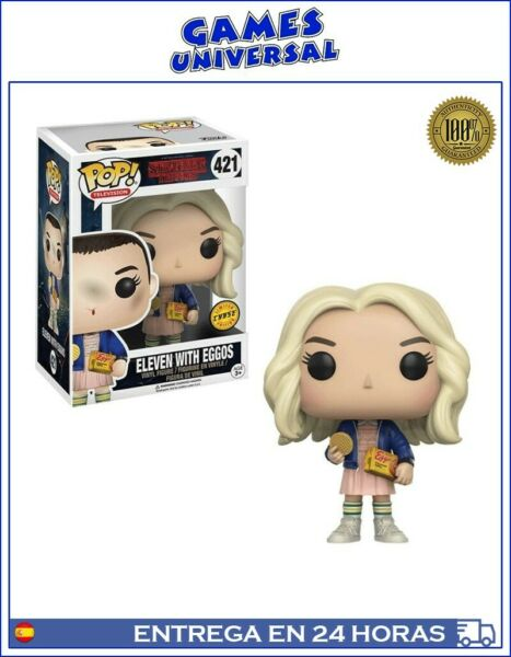 Funko Pop Eleven Stranger Things Eleven With Eggos Chase Limite