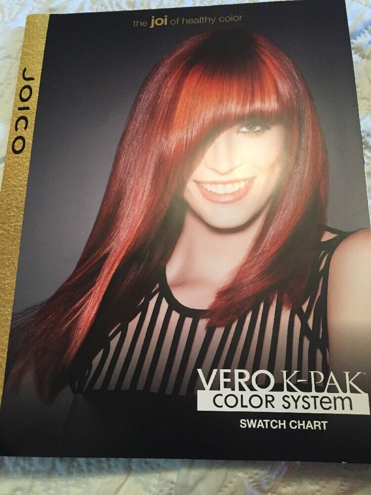 Joico vero k-pak hair color system education resource guide new 50.