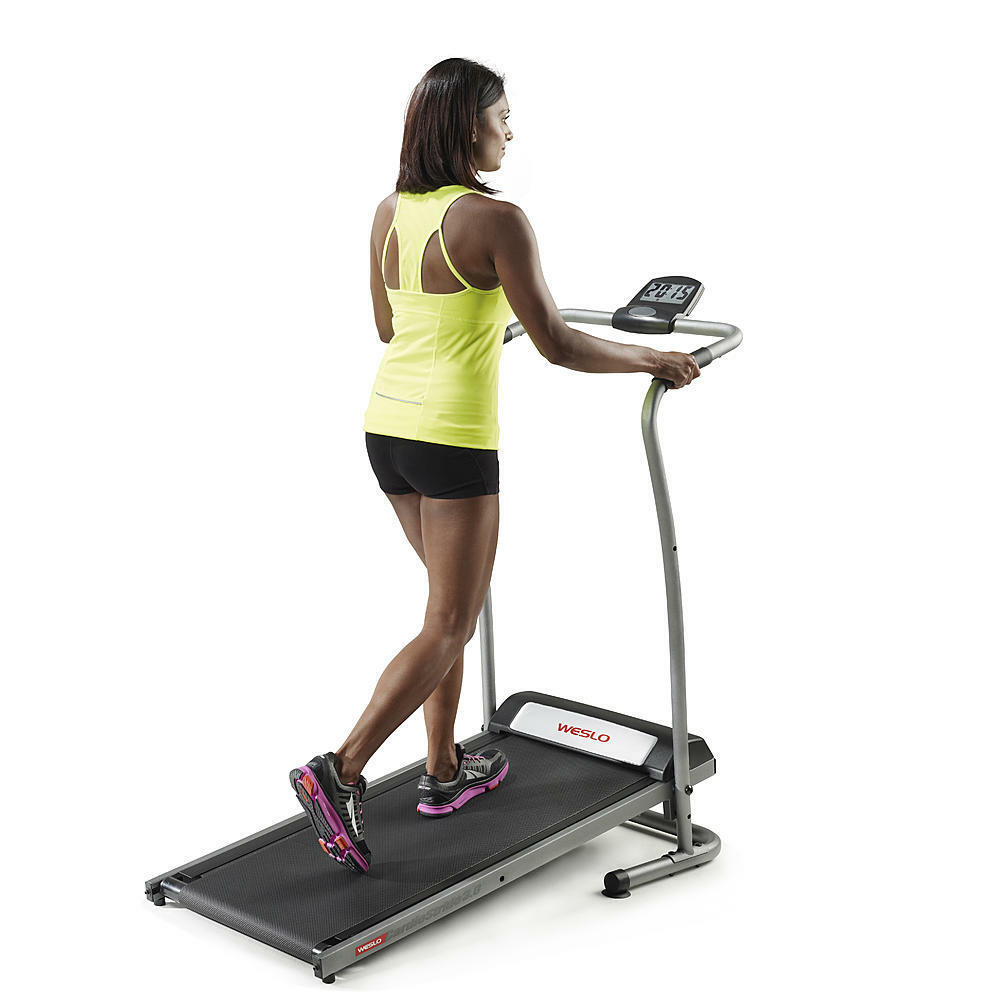 Exercise Fitness: Treadmill Portable Folding Cardio Fitness Machine Home Gym