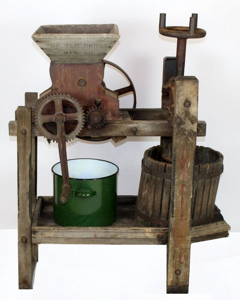 Old Mill Antique Mall Home: Antique American Cider Mill Press & Grinder