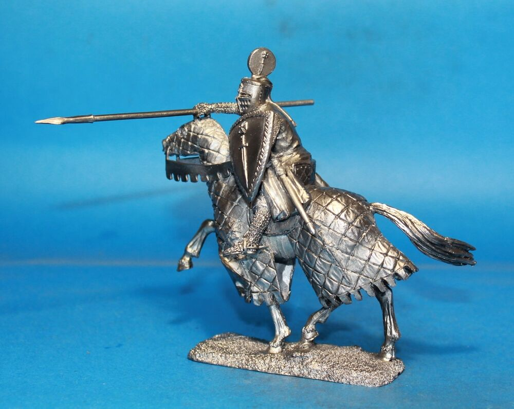 Knight of the Teutonic Order Toy soldier 54 mm figurine, metal ...