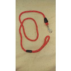 Patterned Red and Black Dog Leash