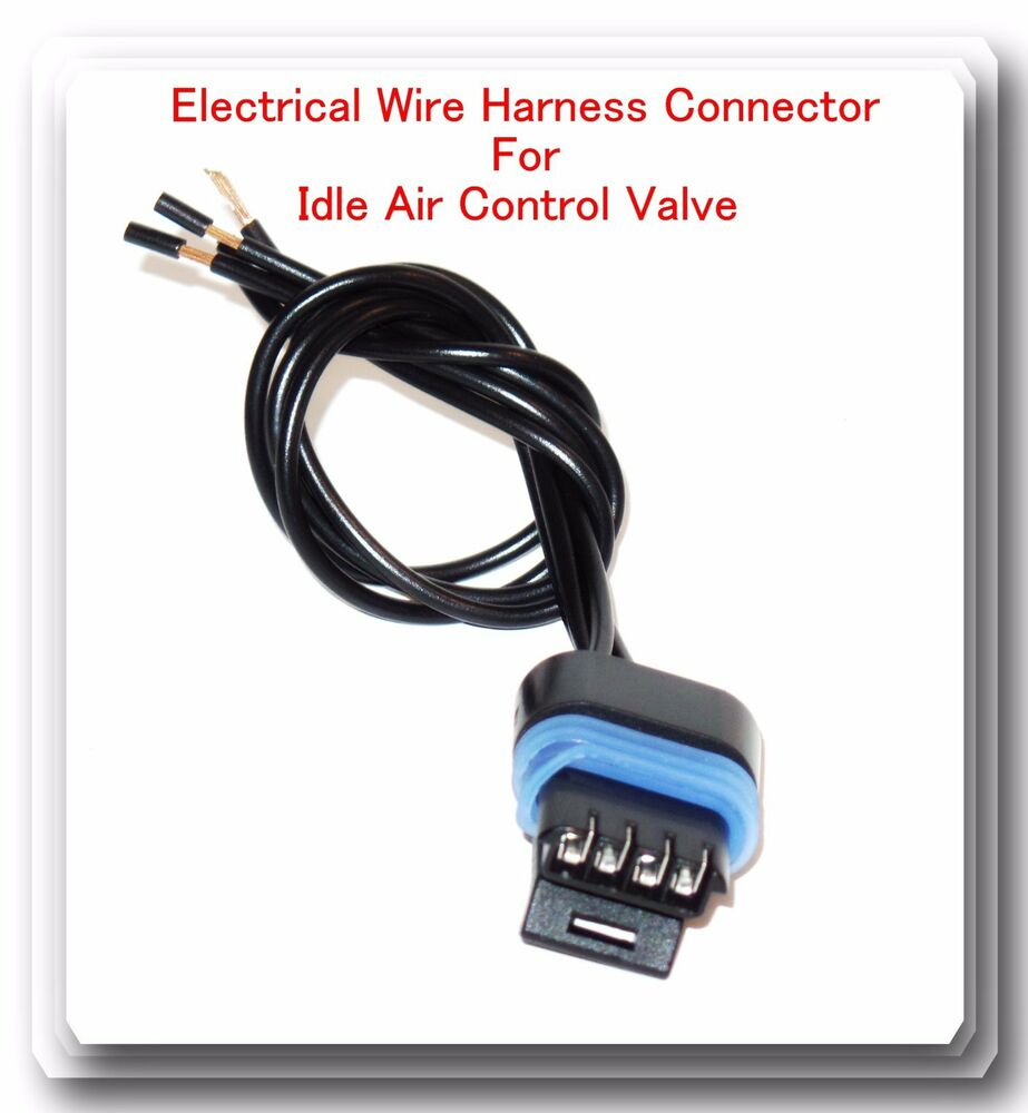 4Wire Harness Pigtail Connector For Idle Air Control Valve AC151 Fits: Jeep  4.0L 601871667226 | eBay